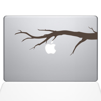 Tree Branch Macbook Decal Sticker Brown