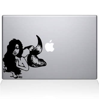 Ariel Little Mermaid Macbook Decal Sticker Black