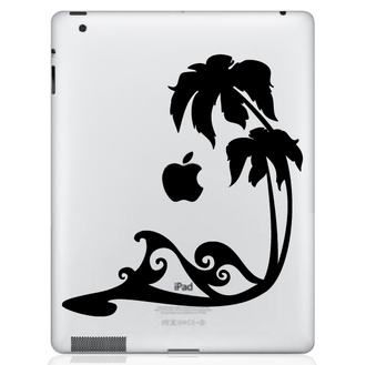 Beach Waves iPad Decal