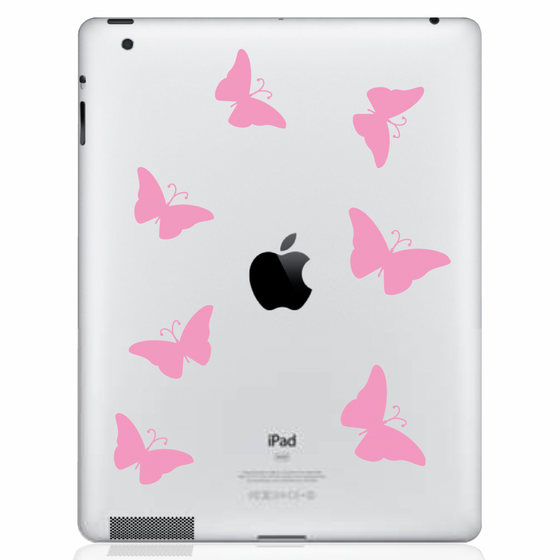 Butterflies iPad Decal