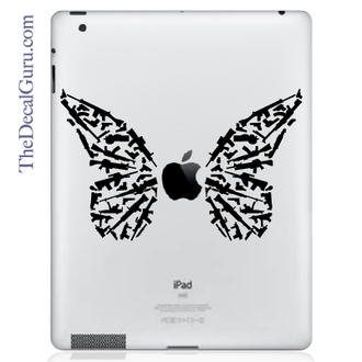 Butterfly of Peace iPad Decal