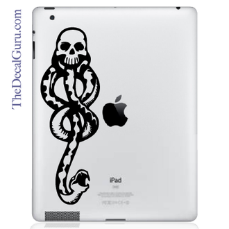 Dark Mark iPad Decal