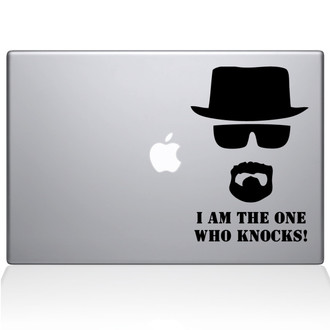 I am Heisenberg Macbook Decal Sticker Black