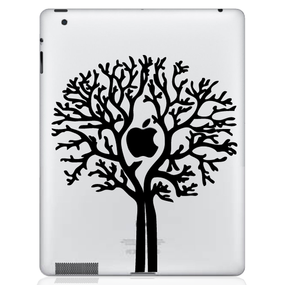 Apple Tree iPad Decal sticker