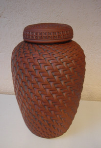 Ginger Jar - Tall AVAILABLE NOW  10 X 6 - FULL SIZE URN $425.00