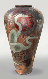 Heron Urn CALL FOR AVAILABILITY  $1,200.00 34 X 19 X 19