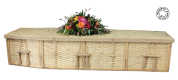 Bamboo Coffin Kit - set up