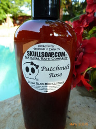 Patchouli Rose Lotion
