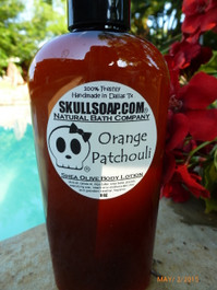 Orange Patchouli Lotion