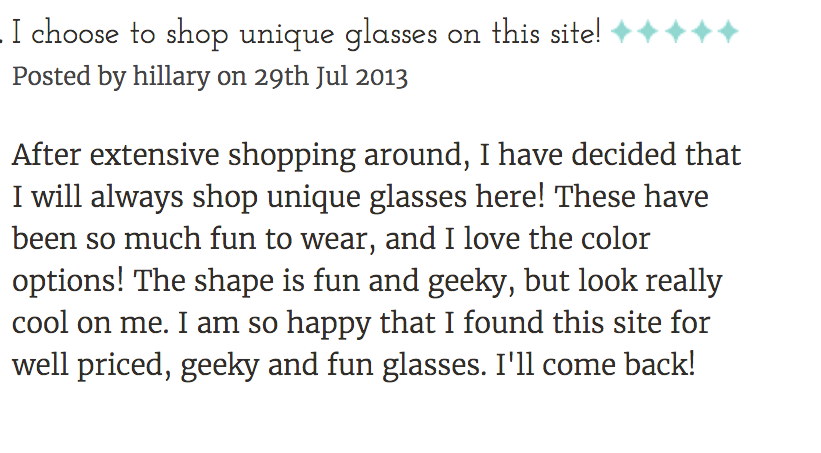 Geek Eyewear style Harry Review by Hillary