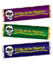 Day of the Dead Chocolate Bars