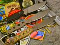 MPS-Ti Plain edge Survival Knife BACK IN STOCK!