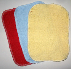 Terry Baby Wash Cloths