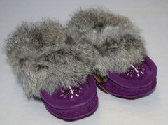 Child Moccasins - Violet