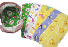 Reusable, Washable Insert for G Diapers Med-Lg