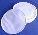 Flat 100% Cotton Nursing Pads