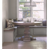 Ambella Aspen Round Dining Table - Rustic Grey