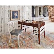 Ambella Firenze Writing Desk - Walnut / Shagreen