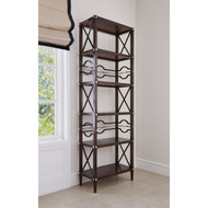 Ambella Spindle Etagere - Walnut