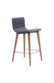 Zuo Modern Jericho Counter Chair Gray