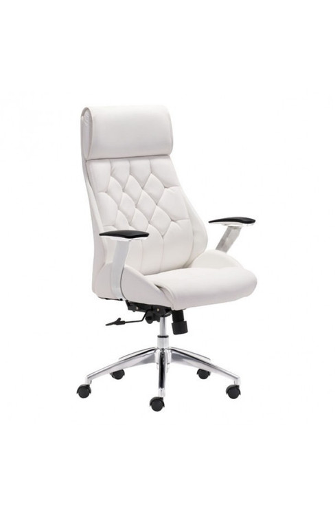 Zuo Modern Boutique Office Chair White