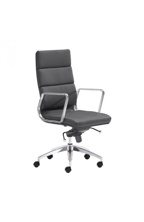 Zuo Modern Engineer High Back Office Chair Black
