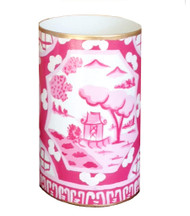 Dana Gibson Canton In Pink Pen Cup