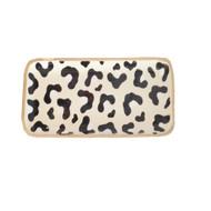 Dana Gibson White Leopard Tray - Small