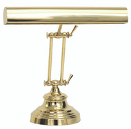 House of Troy Advent Desk/Piano Lamp - Polished Brass