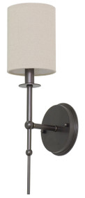 House of Troy Lake Shore Wall Sconce - Mahogany Bronze