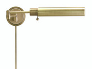 House of Troy Home Office Pharmacy Swing Arm Wall Lamp - Antique Brass