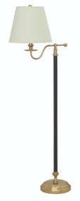 House of Troy Bennington Floor Lamp - Black