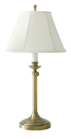 House of Troy Club Adjustable Table Lamp - Antique Brass