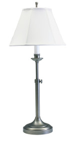 House of Troy Club Adjustable Table Lamp - Antique Silver