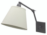 House of Troy Direct Wire Library Lamp - Oil Rubbed Bronze