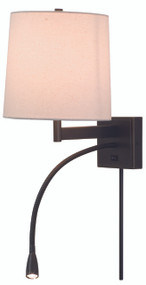 House of Troy Eco Four-Way LED Wall Lamp - Oil Rubbed Bronze