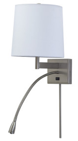 House of Troy Eco Four-Way LED Wall Lamp - Satin Nickel