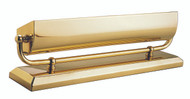 House of Troy Mantel Uplight - Polished Brass