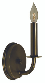 "Framburg Lighting 10.5"" 1-Light Antique Brass Warwick Sconce"