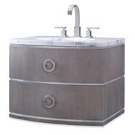 Ambella Cirque Wall Sink Chest - Grey