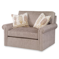 Ambella Home Casey Chair and a Half - Swivel