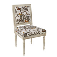 Ambella Home BISQUE ONLY - Louis Side Chair Chippendale Back