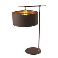Elstead Lighting Balance Brown/Polished Brass Table Lamp