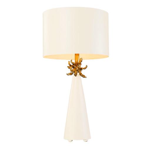 Flambeau Lighting Neo White Table Lamp
