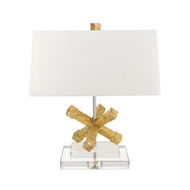 Gilded Nola Jackson Square Table Lamp