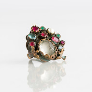 Dorian Webb Bird Fountain Ring