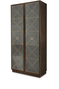 Century Furniture Corso Upholstered Tall Cabinet C19-726