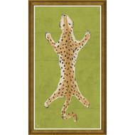 Dana Gibson Large Leopard in Green