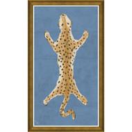 Dana Gibson Large Leopard in Blue