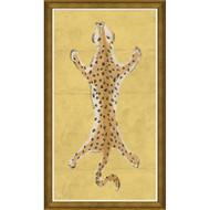 Dana Gibson Large Leopard in Yellow